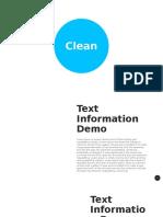 Clean Powerpoint