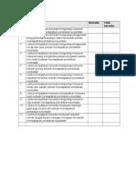 Evaluasi Afektif Diet Dan Jadwal Keseharian Lansia