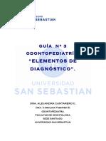 Guía Nº 3 Odontopediatría Elementos de Diagnóstico 2010