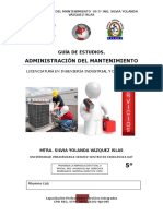 GUÍA DE ADMINISTRACIÓN DEL MANTENIMIENTO (SILVIA)