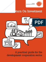 Sroi Practical Guide Context International Cooperation