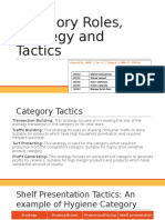 Category Roles and Tactics