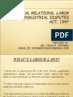 laborlawsindustrialrelationsindustrialdisputes-140127000648-phpapp01-2.ppt