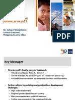 Philippine Economic Outlook for 2017 - Aekopol Chongvilaivan (ADB)