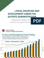Towards Fiscal Discipline and Development under the Duterte Administration - Sec. Benjamin Diokno (DBM)