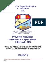 Proyecto Medano Tics Oficial