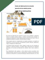 1.3.-Metodos de Fabricacion Del Cemento