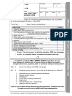 AMT Delirium Screening Form