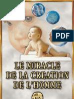 le miracle de la creation de l'homme