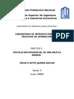 Practica Destilacion Diferencial
