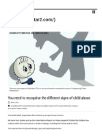 You Need to Recognise the Different Signs of Child Abuse - Star2