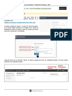 Manual Plataforma Para Estudiantes