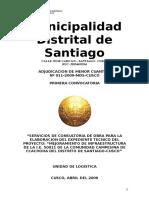 Expediente Tecnico Del Proyecto Mejoramiento de Infraestructura de La Ie 50011 de La Comunidad Campesina de Ccachona_1
