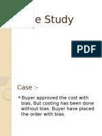 Merchandising Case Study