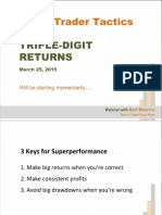Super Trader Tactics for TRIPLE-DIGIT RETURNS