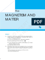 Magnetism and Matter