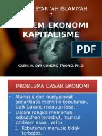 Materi Syariah 7. Sistem Ekonomi Kapitalisme