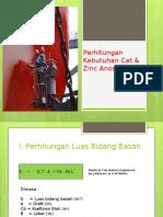 Perhitungan Kebutuhan Cat Dan Anode Kapal