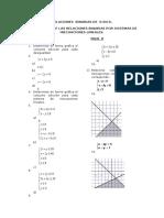 Relaciones Binarias Por Sistemas de Inecuaciones Lineales