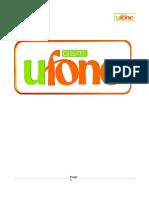 Ufone Report