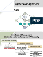 01 Project Management Network Analysis