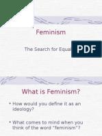 Idelogies Feminism