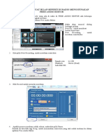 Tutorial Membuat Iklan Seperti Di Radio Menggunakan Free Audio Editor