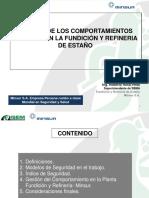 Gestión de Los Comportamientos Seguros en La Fundición y Refineria de Estaño