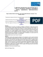 """Análisis sobre el método tradicional de estudio de la emisión tonal  con la secuencia boquilla-trombón frente a la nueva propuesta metodológica """"Upsound®""""-trombón."""