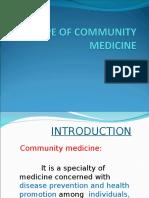 Community  Medicine