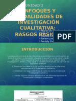 2 Enfoques y Modalidades de Investigación Cualitativa