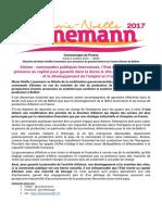 Communiqué de Marie-Noëlle Lienemann sur les annonces du gouvernement sur Alstom