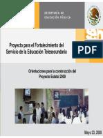 Orientaciones PARA EL PEFT 2009