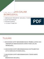 Aspek Fisika Dalam Biomolekul-2010