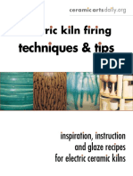Electric Kiln Firing Tech