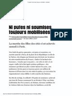 E. Peyret, Ni putes ni soumises, toujours mobilisées (2003)
