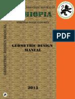 Geometric Design Manual 2013