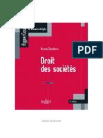 Droit des sociétés pp.1-106