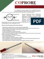 Measuring Carbon Potential using zirconium ball oxygen probe - Zircoprobe