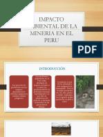 Impacto Ambiental de La Mineria en El Peru