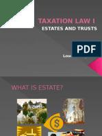 Taxation Law i