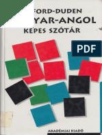 Oxford-Duden Magyar-Angol Képes Szótár
