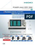 HIOKI 3390POWER ANALYZER