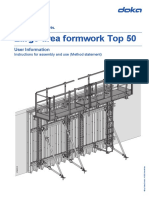 Large-Area Formwork Top 50