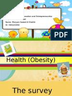 maryam saeed  h00225094 health  obesity