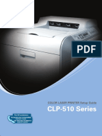 Samsung CLP-510 Series - User & Setup Guide