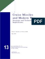 Csat13 Cruise Missile Technology