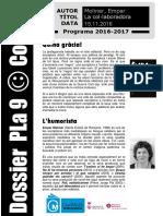 Dossier Pla 9 - Codi 38