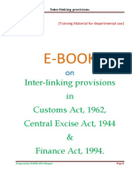 Interlinking Provisions in Indirect Taxes