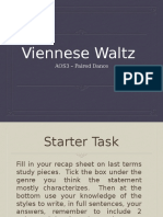 Lesson 1 - Waltz